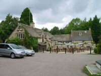 Mill Inn, Withington, Nr Cheltenham, Gloucestershire. Full and Part-time Bar Staff Required