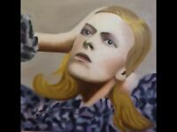 Original Oil on Deep Edge Canvas Bowie 'Hunky Dory'