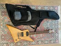 Electric guitar - LTD explorer - same guitar as James Hetfield from Metallica