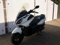 2010 Kymco Downtown 300cc maxi scooter 300 cc moped spares or repairs.