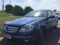 REDUCED IN PRICE STUNNING ROYAL BLUE MERCEDES CLC KOMPRESSOR FIRST TO SEE WILL BUY