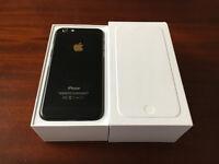 LIKE NEW Apple iPhone 6. MATT BLACK. 64GB. BOXED/COMPLETE. LOOKS LIKE iPhone 7