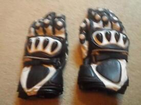 Motorbike gloves size L