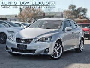 2013 Lexus IS 250 ** Navigation ** 24000 km **