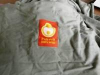 Hana stretchy wrap baby sling