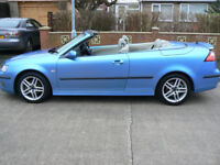 SAAB 9-3 1.9 TID Vector Covertible (2006) For Sale (FSH, 1 Years MOT)