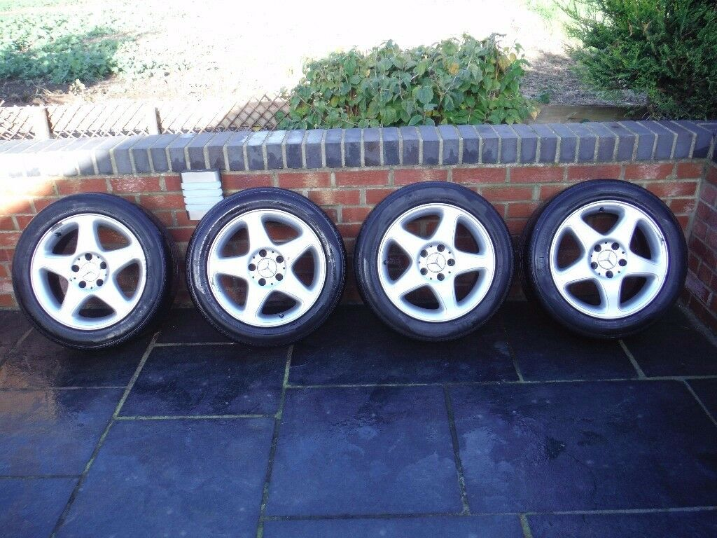 Mercedes 220cdi Alloys with legal tyres
