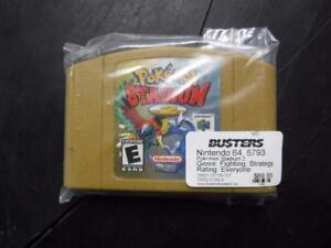 Pokemon Stadium 2 Nintendo 64. We sell used video games. 5793 CH812404