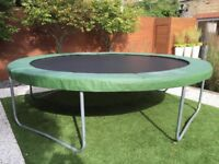 The Fun Bouncer 12ft Round Trampoline - Balham/Tooting Bec/Clapham SW17