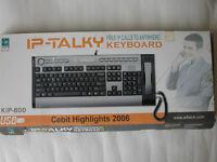 IP-TALKY KEYBOARD --- LIKE NEW
