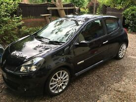 Renault Clio Sport 197, BLACK, MOT&SERVICE to Dec17,1lady owner,full service history,cambelt change