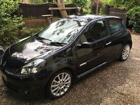 Renault Clio Sport 197, BLACK, 1 lady owner, full service history, MOT&service Jan 17,cambelt change