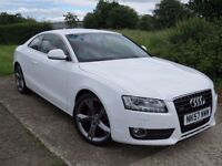 !!ONLY 52K MILES!! 2007 AUDI A5 3.0 TDI SPORT / 12 MONTHS MOT / FULL AUDI SERVICE HISTORY / RED SEAT