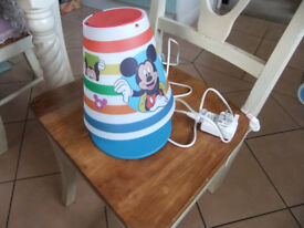 Disney Mickey Mouse LED Childrens Table Lamp
