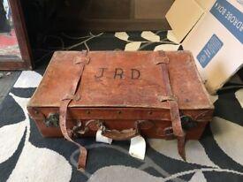 Vintage Suitcase - Trunk - Travel Case - Storage Box - Retro