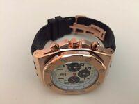 New Audemars Piguet AP Royal Oak Automatic Watch, Rose gold Case