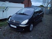 Citroen Xsara Picasso Bargain Family car Automatic Very Low Milage Leather Alloys Metallic Grey PX