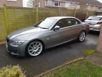 BMW 3 Series 3.0 330d M Sport Manual Convertible 2011 LCI E93 Pro Nav