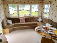 Cheap 8 berth static caravan for sale isle of wight, 12 month seafront park. lowest site fees