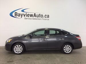 2013 Nissan SENTRA S- PURE DRIVE! AUTO! A/C! BLUETOOTH! CRUISE!