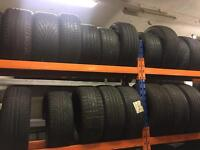 300 plus Part worn tyres to clear All £3 each / different sizes minimum spend 100 tyres
