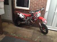 Honda crf 450 supermoto road legal