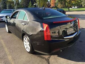 2013 Cadillac ATS 2.0L Turbo AWD | NO ACCIDENTS | LEATHER Kitchener / Waterloo Kitchener Area image 4