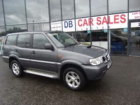 2005 54 NISSAN TERRANO 2.7 DIESEL 5DR **** GUARANTEED FINANCE **** PART EX WELCOME