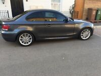 BMW 120D M Sport, 2.0 Diesel, 6 Speed Manual, 2 Doors Coupe, Grey, MOT & Tax