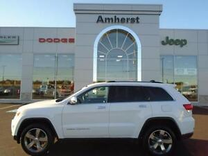 2015 Jeep Grand Cherokee LIMITED 4X4 LOW, LOW KM