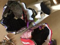 Clothes & costume jewellery bundle
