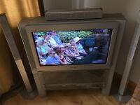 Sony TV + Stand + DVD/Home Cinema
