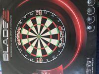 Winmau Blaze 5 Dart Board and Surround