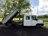 LDV 400 Convoy Diesel LWB Double Cab Tipper NO VAT