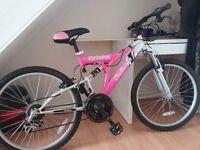 Girls/ladies bike pink
