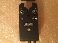 Delkim txi plus purple bite alarm mint condition