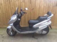 Sym joyride 200cc scooter moped 2004 has mot ready to ride away