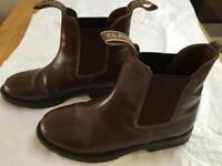 Dunlop Baseball boots / leather Riding Boots. Worn Twice