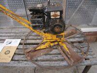 Concrete Power Trowel - Good working order -- Easy starter - Plenty of life left in blades