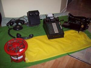 CAMP STOVES/ Adding Machine,Sewing Machine*SEE EACH PRICE