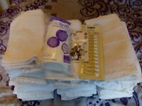 35 x Terry Towelling nappy squares