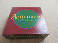 Articulate Family Game.