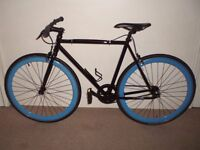 """Immaculate """"6KU Shelby 4"""" Single Speed/Fixie/Flip-Flop (21"""", M frame) Bike (will deliver)"""