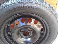 Car wheel & tyre