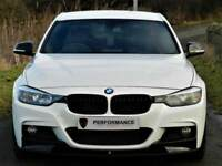 ALPINE WHITE - BMW 320D M SPORT BUSSINESS EDT - M PERFORMANCE PACK - LEATHER - WARRANTY - HUGE SPEC