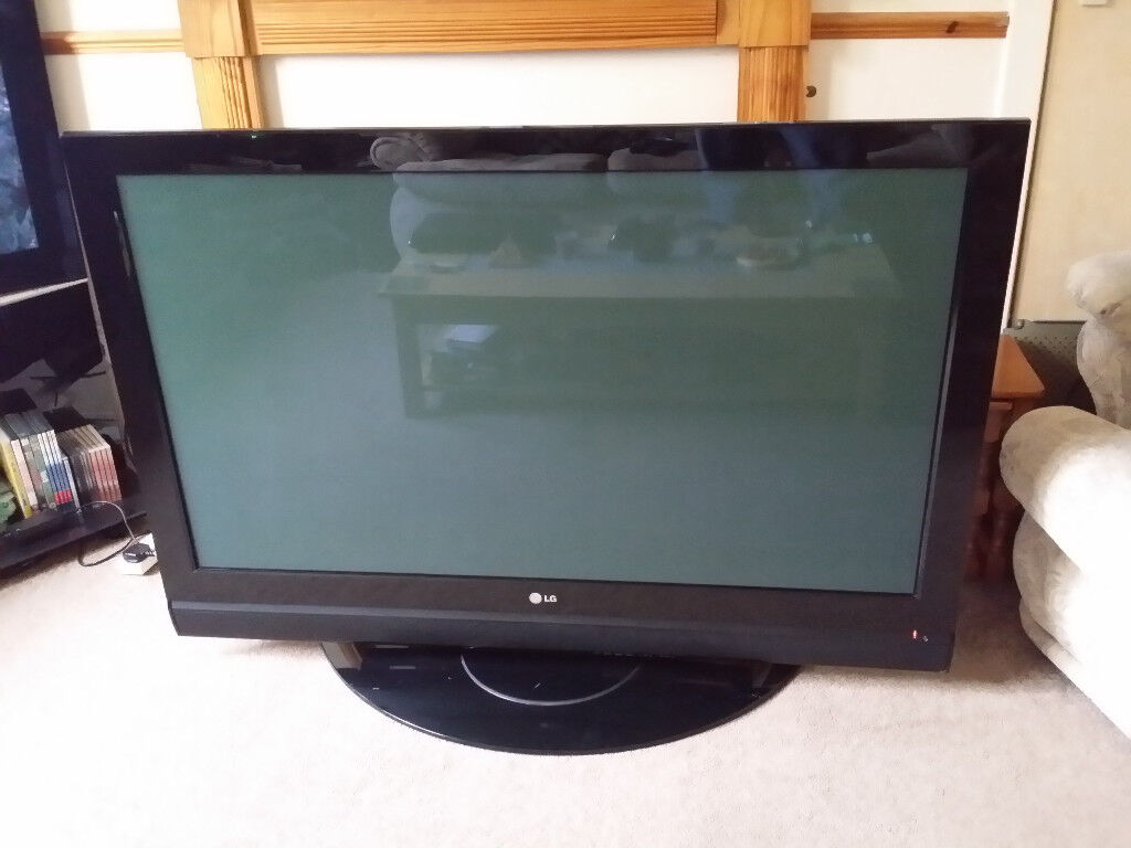 50 INCH LG PLASMA TV FOR SPAIRS OR REPAIR STUCK IN STANDBY | in Troon,  South Ayrshire | Gumtree
