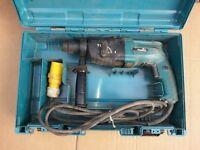 Makita SDS Drill Rotary Hammer HR2020 710W 110 v