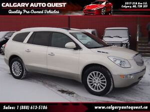 2011 Buick Enclave CXL AWD/B.CAM/3RD ROW/LEATHER/ROOF