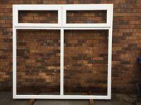 UPVC double glazed window units