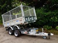 Tipper trailer 3 ton dale Kane electric tipper trailer fully welded